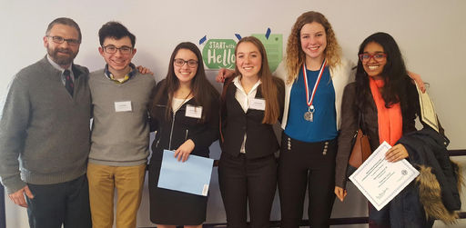 OSR Students Present at Junior Science & Humanities Symposium