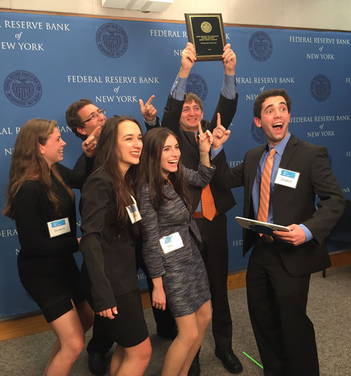 MHS Students Take 3rd Place in Fed Challenge