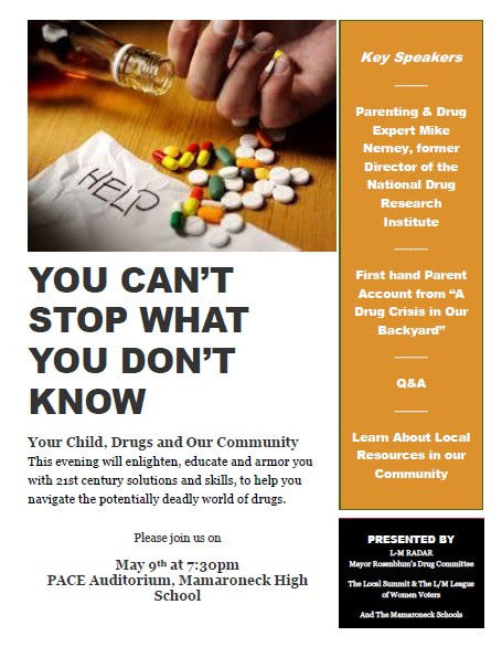 "Important Evening: ""Your Child, Drugs, and Our Community"""