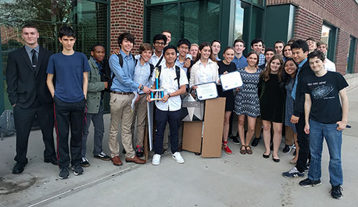 Computer Science Students Win 1st Place for Most Creative App