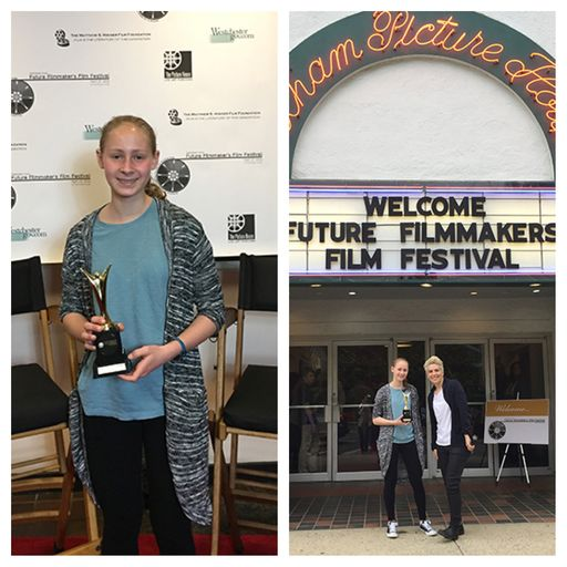 MHS Sophomore Wins Top Prize at Future Filmmakers Festival