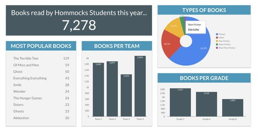Hommocks Reading Dashboard Shines Light on District Literacy Goals
