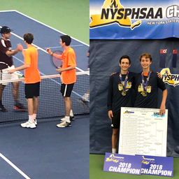 State Tennis Champions: Congratulations Boys!