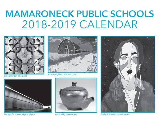 2018-2019 Mamaroneck School District Calendar