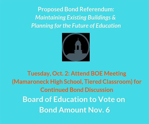 Proposed Bond Referendum Presented at Sept. 24 BOE Meeting