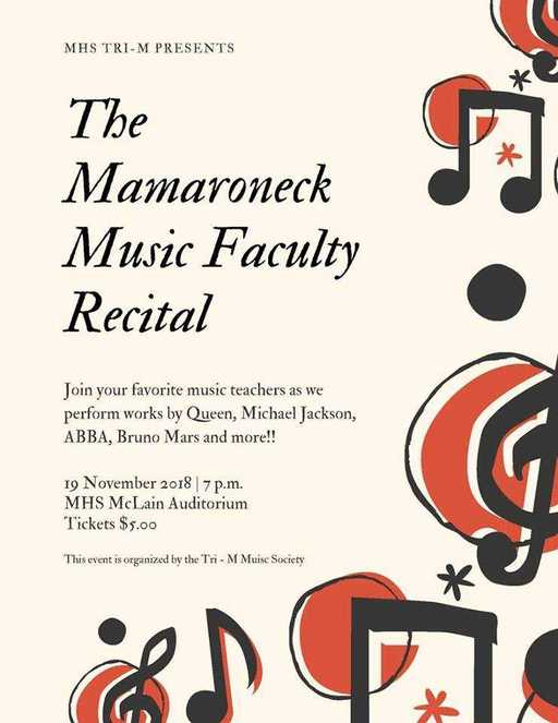Faculty Recital Nov. 19