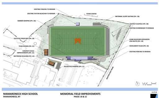 Community Member Donation to Fund Memorial Field Improvements