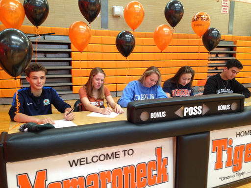 Five Student-Athletes Commit to DI/DII Levels