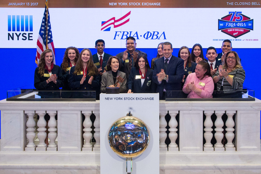 FBLA Students Ring Closing Bell at NY Stock Exchange